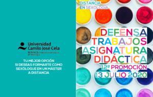 Defensas TFM 12º Promoción Máster Sexología Distancia - UCJC