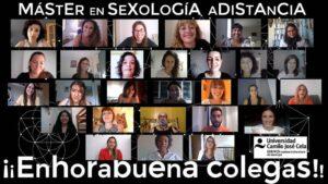 12º Promoción Máster Sexología Distancia - UCJC