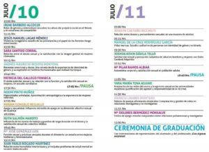 Programa TFM 7º promoción Máster Oficial Sexología - UCJC