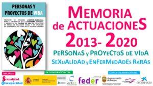 Memoria Personas y Proyectos de Vida