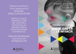 VI Jornadas Universitarias en Sexología - IUNIVES - Instituto Universitario de Sexología de la Universidad Camilo José Cela