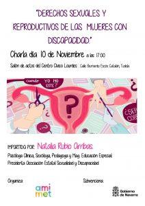 """Jornadas en Navarra """"Derechos Sexuales y Reproductivos de las Mujeres con Discapacidad"""""""