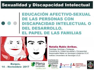 El papel de las Familias en la Educación Afectivo-Sexual. Plena Inclusión Castilla y León