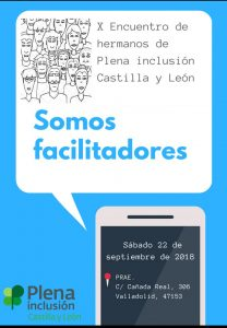 X Encuentro de Hermanos y Hermanas de Plena Inclusión- Castilla y León