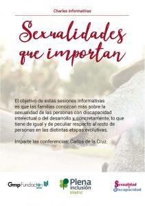 Sexualidades que Importan- Charlas Formativas (Comunidad de Madrid)