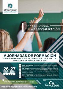 V Jornadas de Formación en Intervención en Personas Adultas con TEA- Educación afectivo sexual en personas con Trastornos del Espectro del Autismo (Albacete)