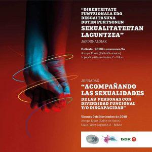 """Jornadas """"Acompañando las Sexualidades de las Personas con Diversidad Funcional"""" (Bilbao)"""