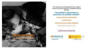 Presentación Nueva Guía Sexualidad y Afectividad en las Personas con Parálisis Cerebral (ASPACE)