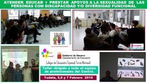 Formaciones en Educación Sexual - Colegio de Educación Especial Torre Monreal (Navarra)