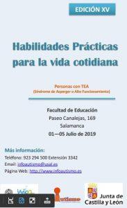 Cursos Verano de la  Universidad de Salamanca - Síndrome de Asperger, familias y Sexualidad