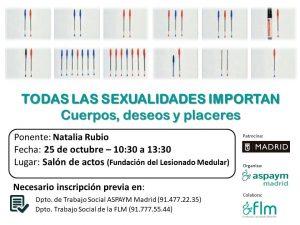 Todas las SEXUALIDADES IMPORTAN - Sexualidad y Lesión Medular  (ASPAYM Madrid)