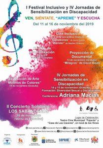 IV Jornadas de Sensibilización en Discapacidad - APREME (Tenerife)