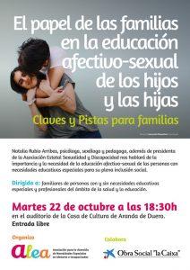 El papel de las familias en la educación afectivo-sexual de los hijos y las hijas. Asoc. ALEA (Burgos)