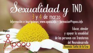 Sexualidad y Trastornos del Neurodesarrollo- Entidad APACU  (Cuenca)