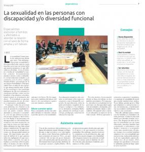 Suplemento Especial El Correo de Bizkaia. Sexualidad y Personas con Diversidad Funcional