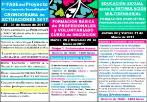 """1ª Fase Proyecto """"Construyendo Sexualidades""""- Ayuntamiento de los Realejos (Tenerife)"""