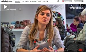 """Reportaje Televisión  ETB 1- Actualidad """"Sexualidad y Diversidad Funcional"""""""