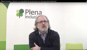 """Vídeo: """"Píldora Formativa: Derecho a la Sexualidad de las Personas con Discapacidad Intelectual"""" (Plena Inclusión )"""