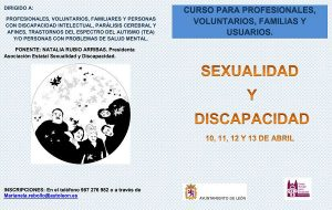 Próximo Curso de formación: Sexualidades, Discapacidades y Diversidades