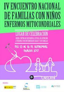 IV Encuentro Nacional de Familias con Niños y Niñas con Enfermedades Mitocondriales