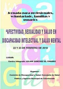Jornadas sobre Afectividad, Sexualidad y Salud en Discapacidad Intelectual y Salud Mental- Salamanca 2018