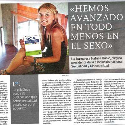 """Diario de Burgos, """"Hemos avanzado en todo menos en el Sexo"""""""