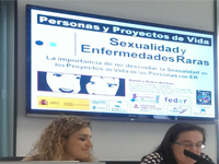 "Jornadas ""Sexualidad y Enfermedades Raras""  FEDER-Madrid"